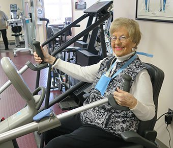Joan m cardiac rehab patient