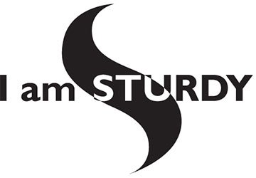 I am sturdy logo