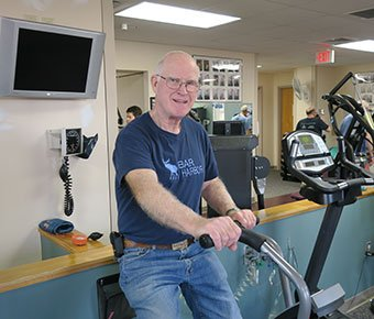Bill P cardiac rehab patient