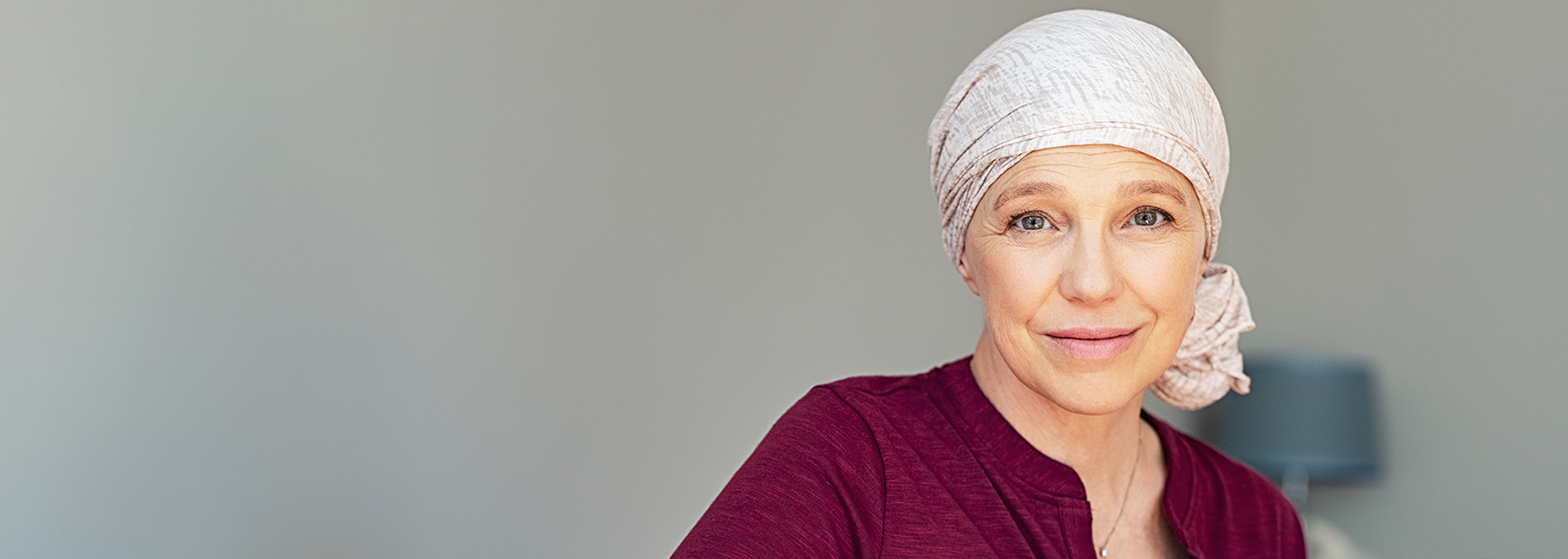 Image of woman battling cancer